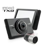 IROAD TX9 3K QHD DVR RECORDER FRONT + REAR FULL HD NIGHT VISION Free 32gb Memory Card